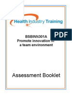 BSBINN301A-Promote-innovation-in-a-team-environment.doc