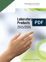 Catalogue Laboratory Products_Heraeus Kulzer