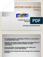 Obstructive Sleep Apnea and Analgesia.sjh Powerpoint