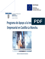 PresentaciónPresentación Programa de Apoyo a la Innovación Empresarial Programa de Apoyo a La Innovación Empresarial