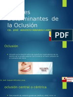 factores oclusion