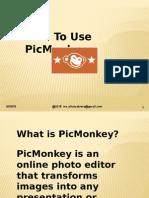 PicMonkey - Tutorial