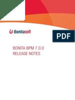Bonita Bpm 7.0.0 Release Notes