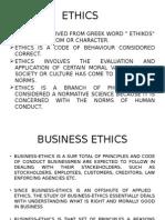Ethics CBS