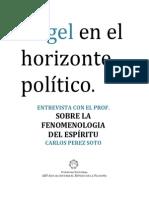 [Entrevista] Pérez Soto, Carlos - Hegel en El Horizonte Político.