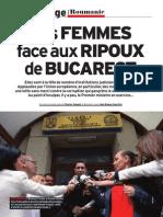 Femei contra corupţilor de la Bucureşti