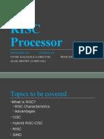 RISC Processor Fundamentals