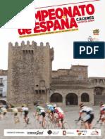 Libro de Ruta Campeonatos de España Caceres 2015