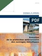 Entretien de la protection anticorrosion des ouvrages métalliques