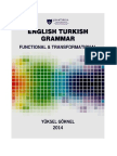 CONTRASTIVE ENGLISH AND TURKISH GRAMMAR, YUKSEL GOKNEL