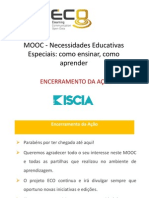 Encerramento da Ação - MOOC de NEE