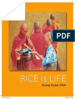 RICE is LIFE exhibition catalogue by Aung Kyaw Htet