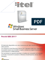 Fitel Presentazione SBS2011 Rev 1.1