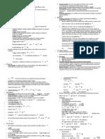 Riassunti fisica - CdL Medicina
