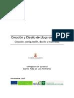 Creación y Diseño de Blogs en Blogger