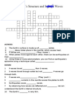 The Earth's Structure Xword