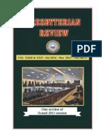 Presbyterian Review - Oct2014_Mar2015