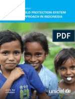 Formative Evaluation UNICEF's Child Protection System Building Approach in Indonesia