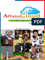 Current Affairs January PDF Capsule 2015 by AffairsCloud1