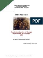 proyecto2004 Reactivación lab virología