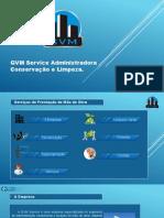 Apresentação GVM Serviço de Mão de Obra