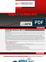 Kkco Budget Tax Watch 2015