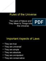 1.6 Rules of the Universe I Powerpoint