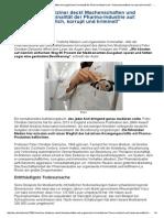 Dänischer Mediziner Deckt Machenschaften Und Organisierte Kriminalität Der Pharma-Industrie Auf_ _Unwissenschaftlich, Korrupt Und Kriminell_ -- Gesundheit & Wohlbefinden -- Sott