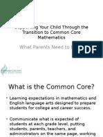 parent presentation math common core-1