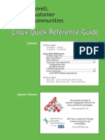 Linux Quick Ref Card