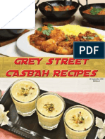 Grey Street Casbah Recipes 1