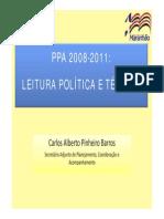 4_leitura Politica Do Ppa 2008-2011