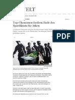 2015-06 Top-Oekonomen fordern Ende des Spardiktats