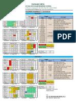 Kalender Aakademik Nurmilad Boarding School 2015-2016