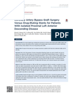 CABG vs DES for Isolated PCABG vs DES for isolated proximal LADroximal LAD - Journal Club Feb 2015 - Subba
