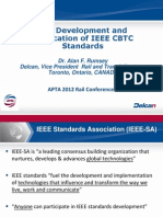 Rumsey a the Development and Application of IEEE CBTC Standards