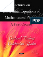 Lectures On Differential Equations.pdf