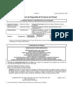 Bioxido de Carbono HDS P4574J 2007