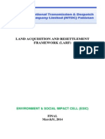 LAND ACQUISITION AND RESETTLEMENT FRAMEWORK (LARF)