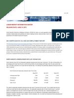 North Dakota May 2015 Jobs Report