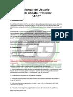 Manual de Usuario Anti Cheats Protector