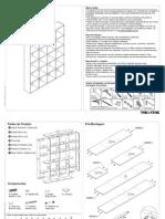 Manual montagem estante celula 170x212