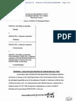 Silvers v. Google, Inc. - Document No. 18