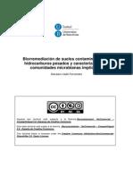 Biorremediacionde Suelos Conntaminados Por HC