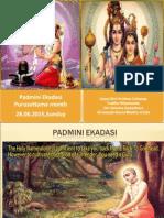 Padmini Ekadasi 2015