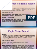 Team Outing Resort Options