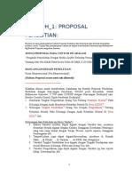 Contoh Proposal Penelitain 1