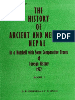 History Ancient Medieval Nepal