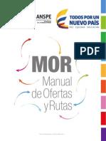Manual de Ofertas y Rutas - ANSPE