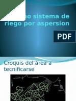 Diseño Sistema de Riego Por Aspersion
